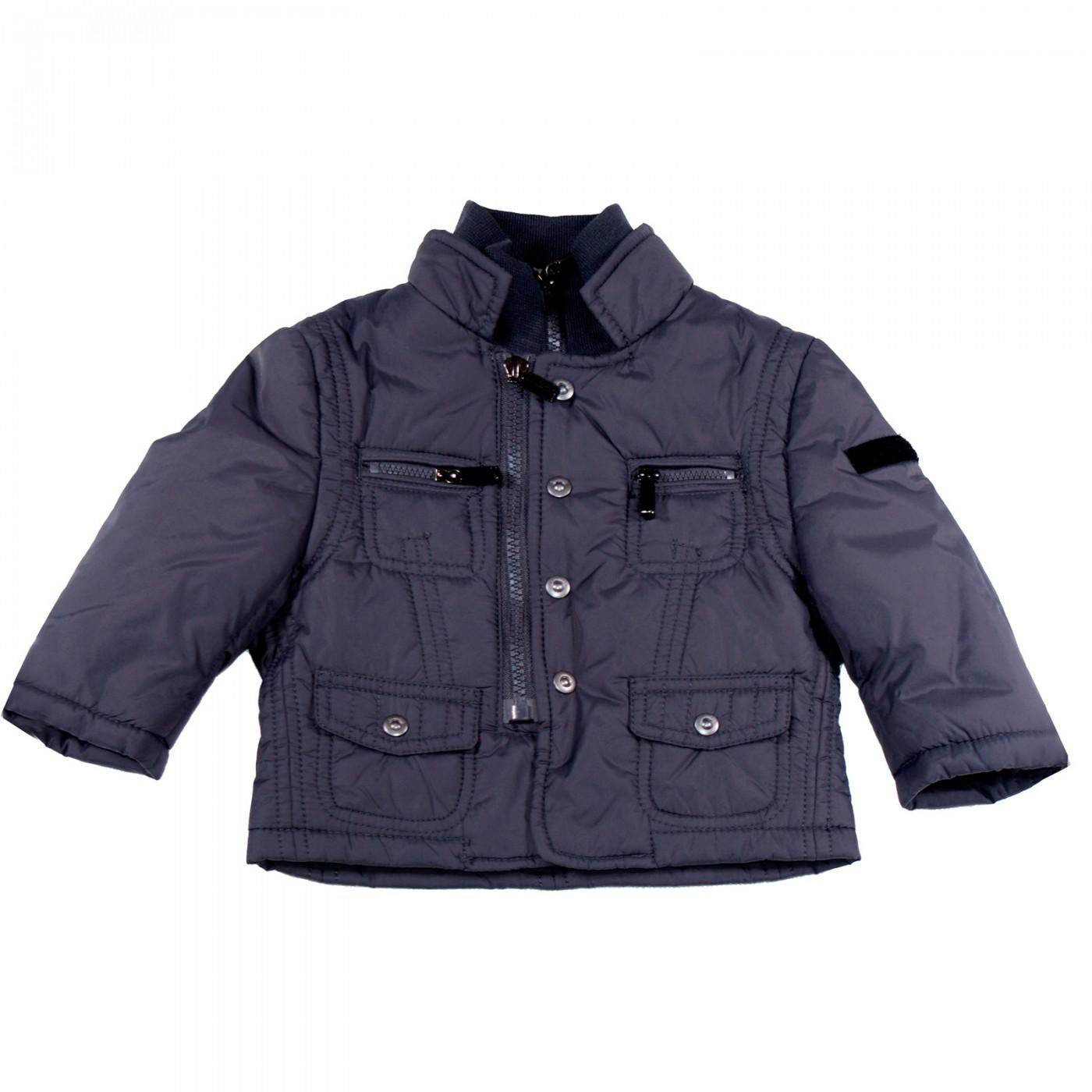 Куртка серая демисезонная Bikkembergs 0054