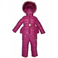 Комплект розовый на пуху