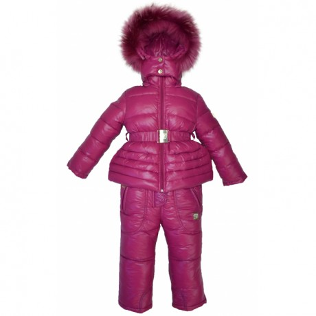 Комплект розовый на пуху Borelli