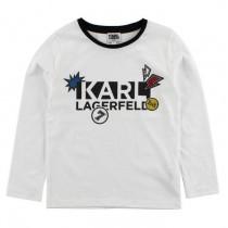 Футболка Karl Lagerfeld Kids Z25095-10B
