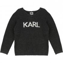 Пуловер Karl Lagerfeld Kids Z25056-A61