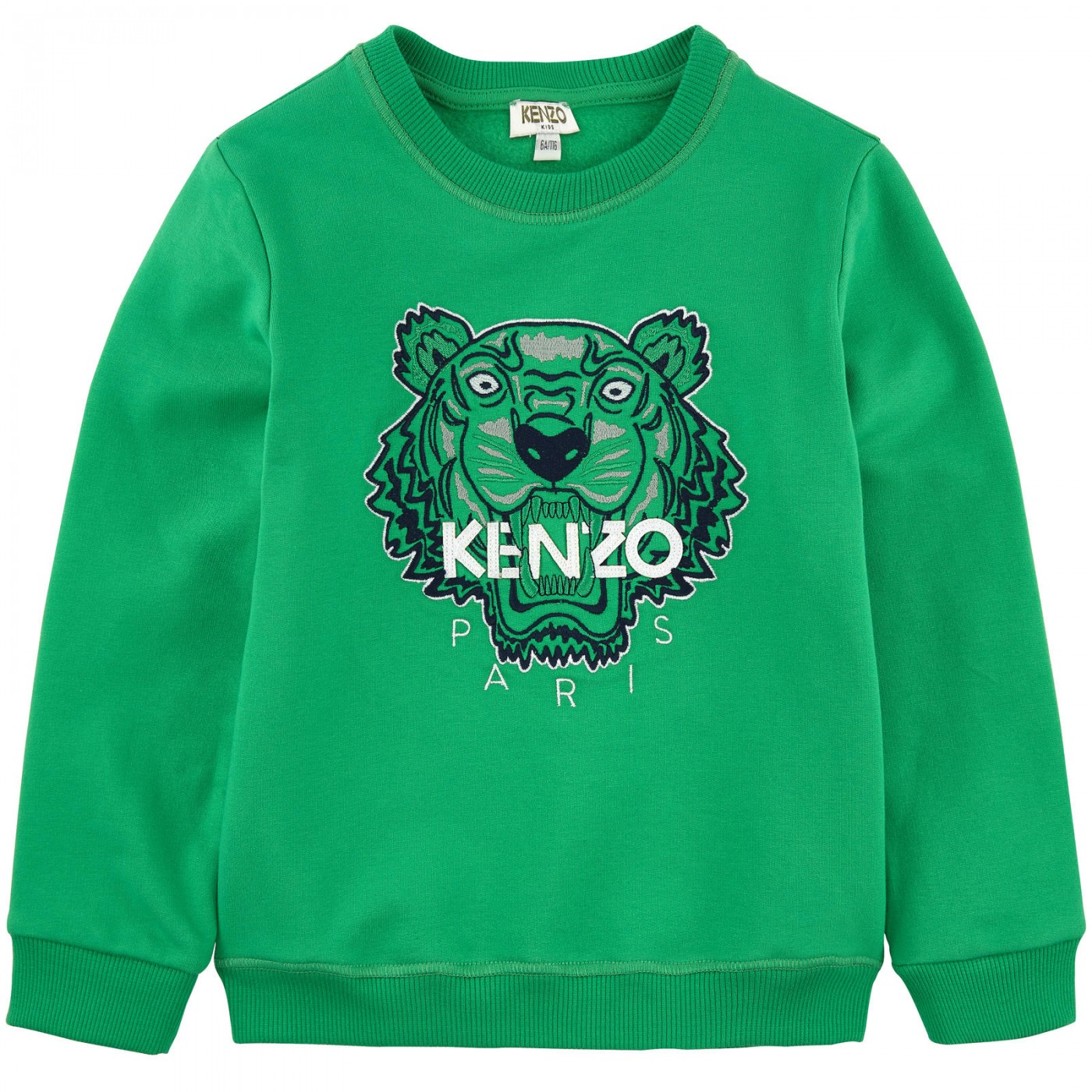 Толстовка зеленая Kenzo KG15155-05