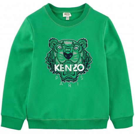 Толстовка зеленая Kenzo