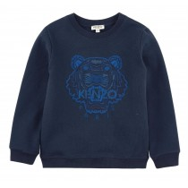 Толстовка синяя Kenzo KG15155-04