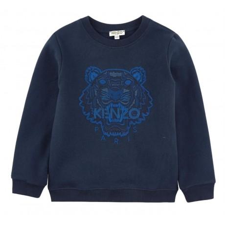 Толстовка синяя Kenzo