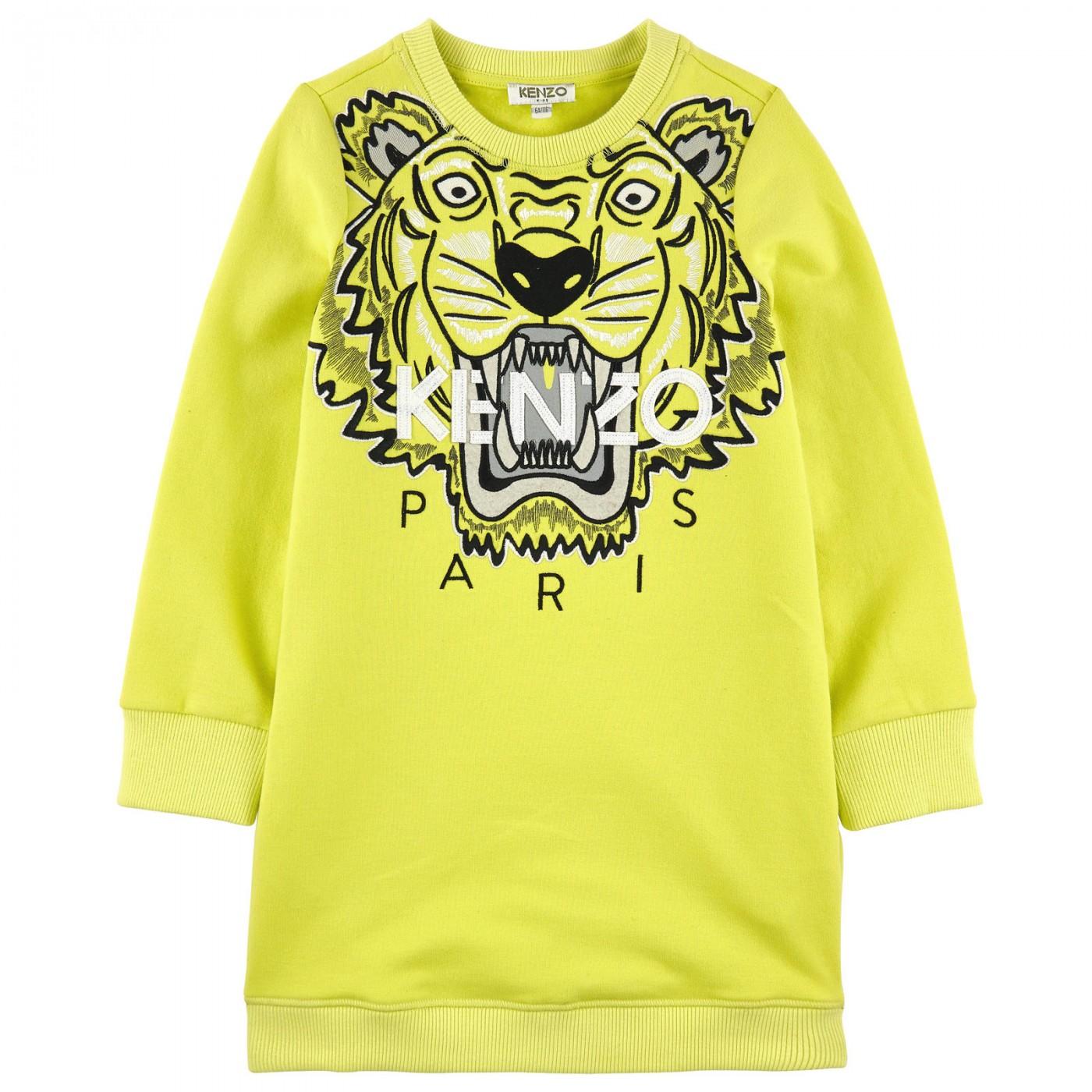 Платье c тигром Kenzo KG30165-73