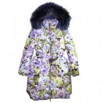 Пальто зимнее с мехом Manudieci P1130408