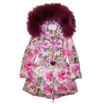 Пальто зимнее с мехом Manudieci P1130433