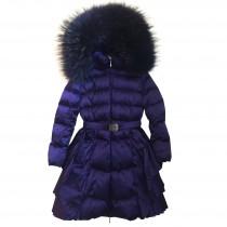 Пальто фиолетовое Manudieci P1236433