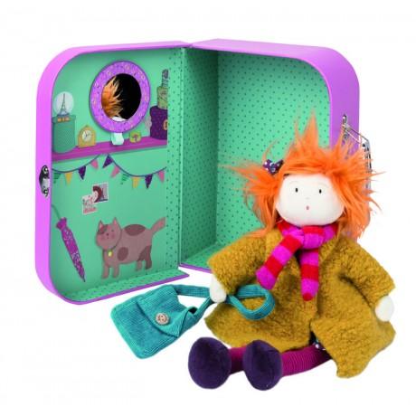 Кукла в чемоданчике Moulin Roty