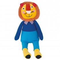 Львенок в синем костюме Moulin Roty 711526