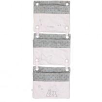 Органайзер для кроватки розовый Noukies BB1511.35