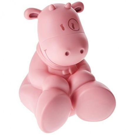Ночник корова Lola розовый Noukies