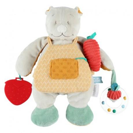 Игрушка мишка садовник Noukies