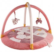 Развивающий коврик розовый