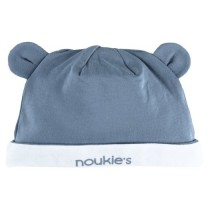 Шапка с ушками синяя Noukies Z801231