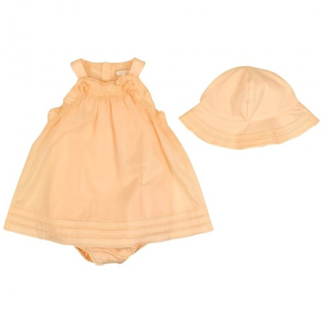Платье-боди с панамой Chloe