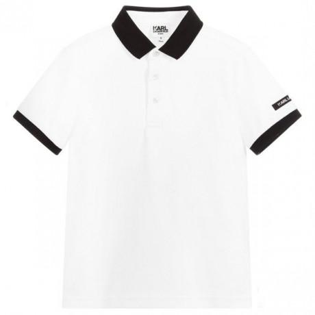 Рубашка-поло Karl Lagerfeld Kids