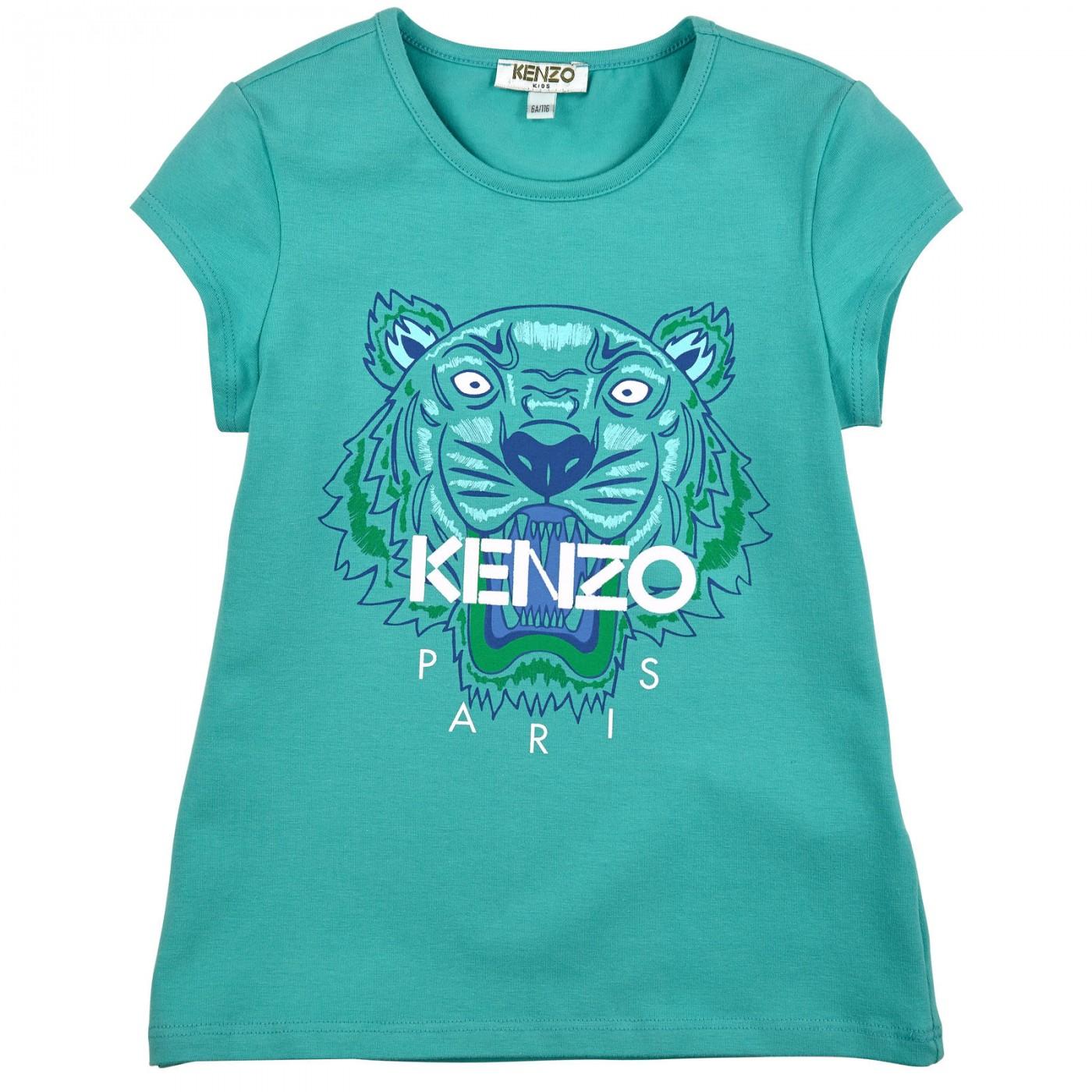 Футболка с тигром Kenzo KF10175-43