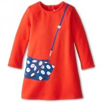 Красное платье Little Marc Jacobs W12118-973
