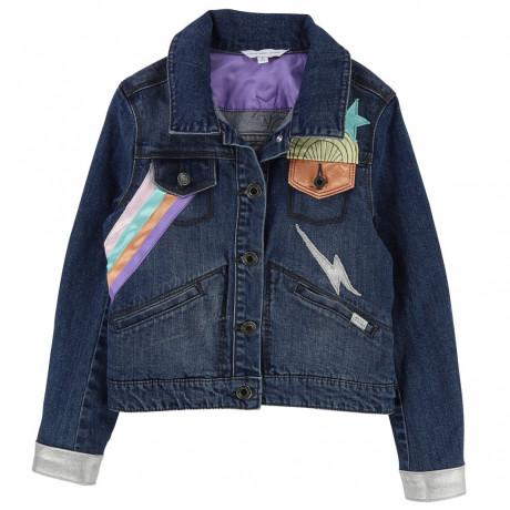 Джинсовая куртка Little Marc Jacobs