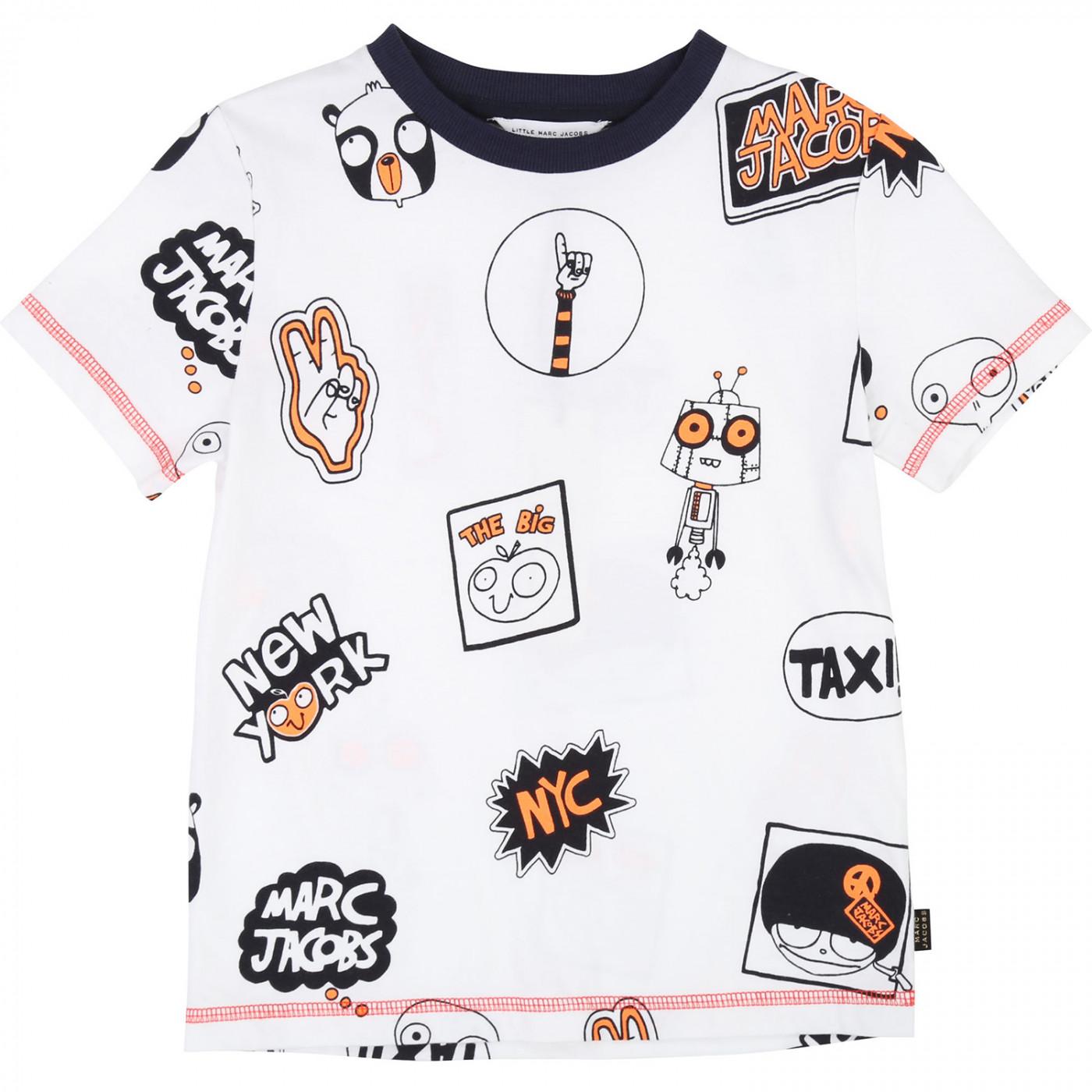 Футболка Little Marc Jacobs W25376-10B