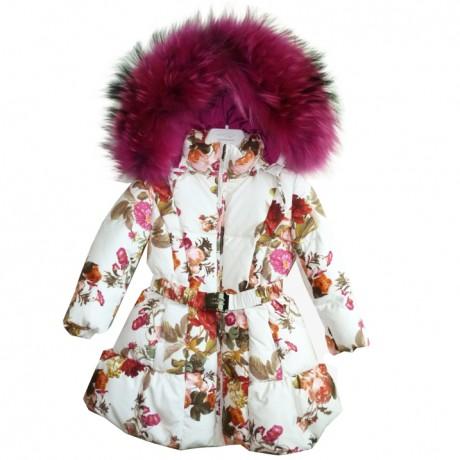 Пальто с мехом Manudieci