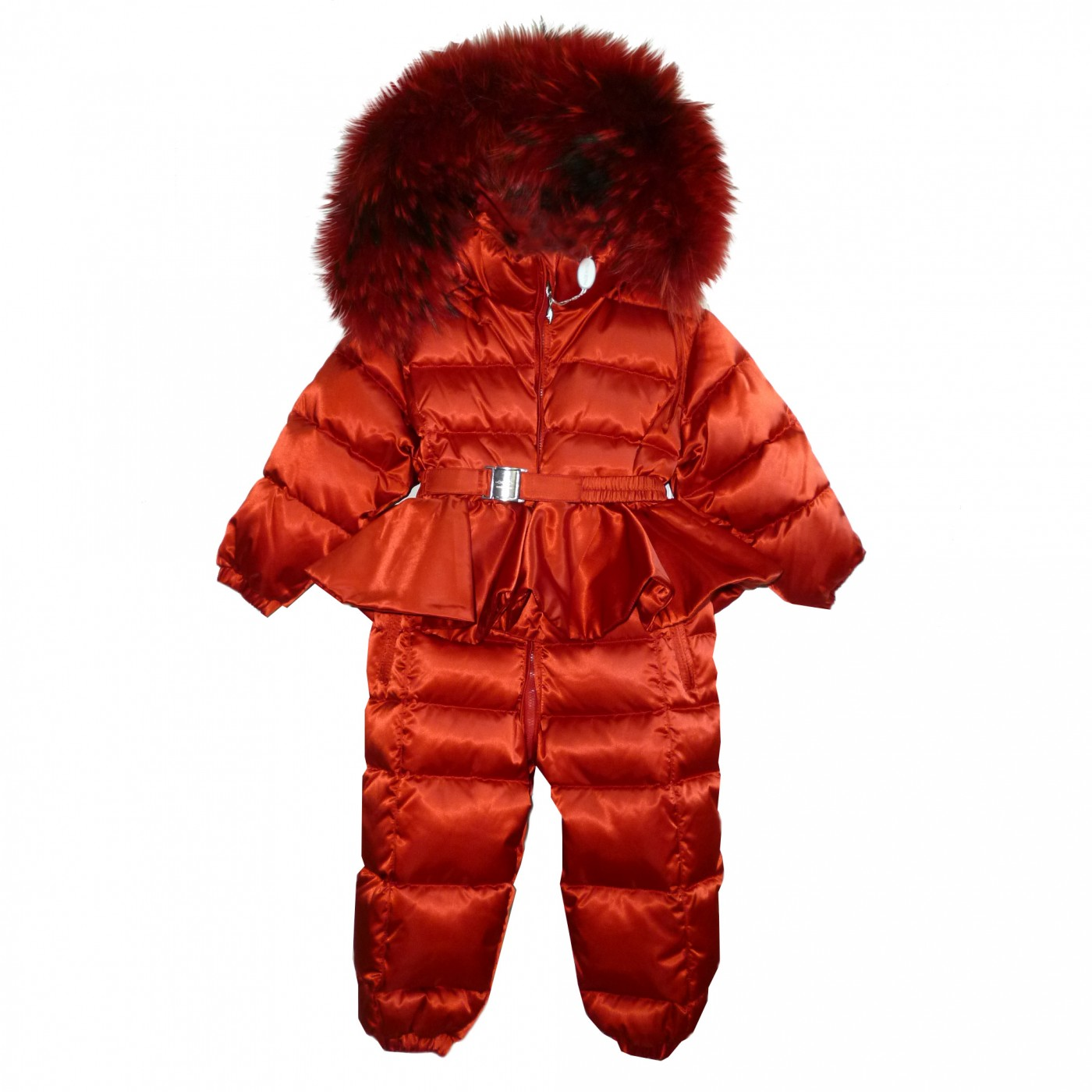 Красный зимний комбинезон Manudieci P1130390