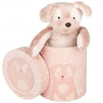 Щенок розовый в подарочной коробке Moulin Roty 711532