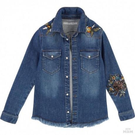 Джинсовая куртка Zadig & voltaire